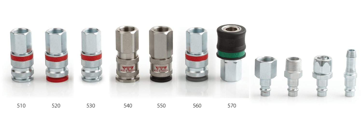 EURO-profile couplings