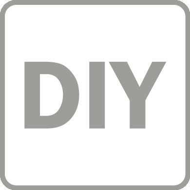 Suitable for DIY market
