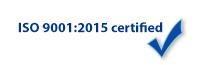 JWL is ISO 9001:2015 certified