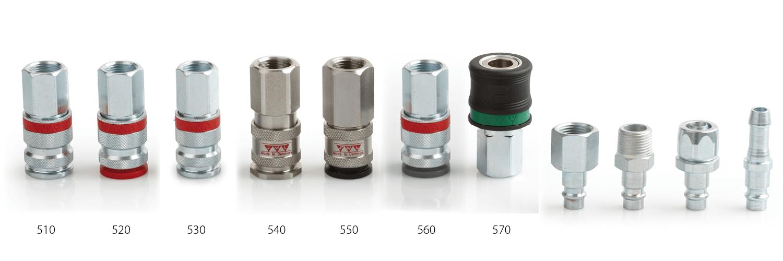 EURO-profile couplings
