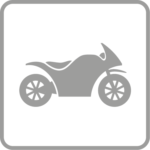 Suitable for motorcycles