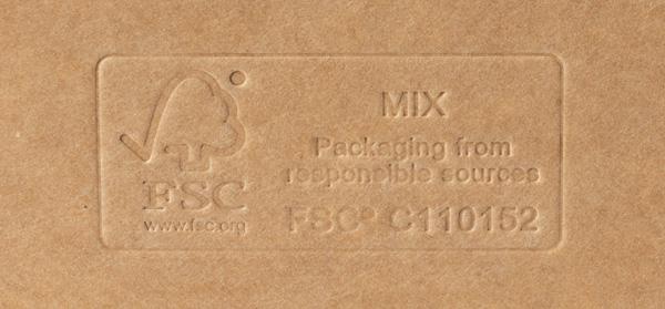 FSC mærket emballage